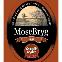 Grauballe Mørk Mosebryg - 50 cl.