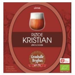 Grauballe Røde Kristian ØKO - 50 cl.