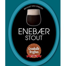 Grauballe Enebær Stout - 50 cl.