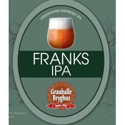 Grauballe Franks IPA - 50 cl.